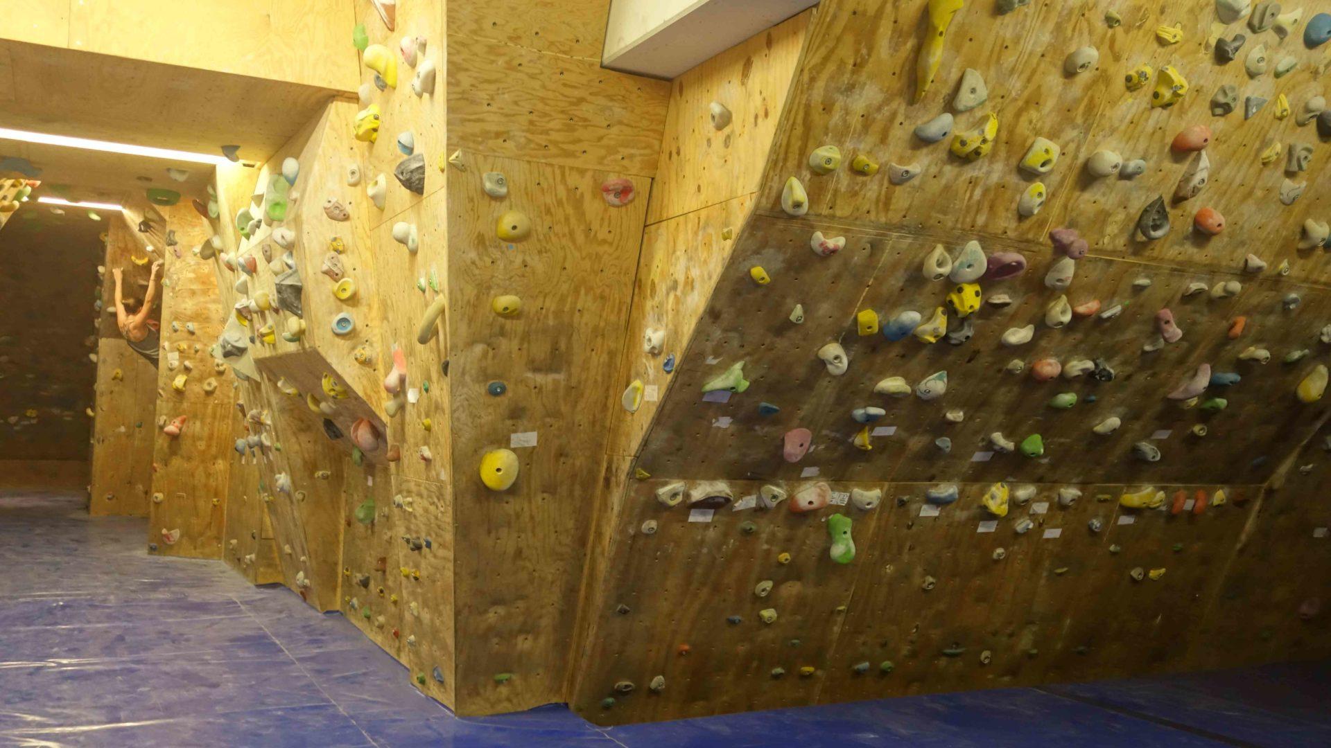 Boulderraum in der St.-Konrad-Schule, Haar