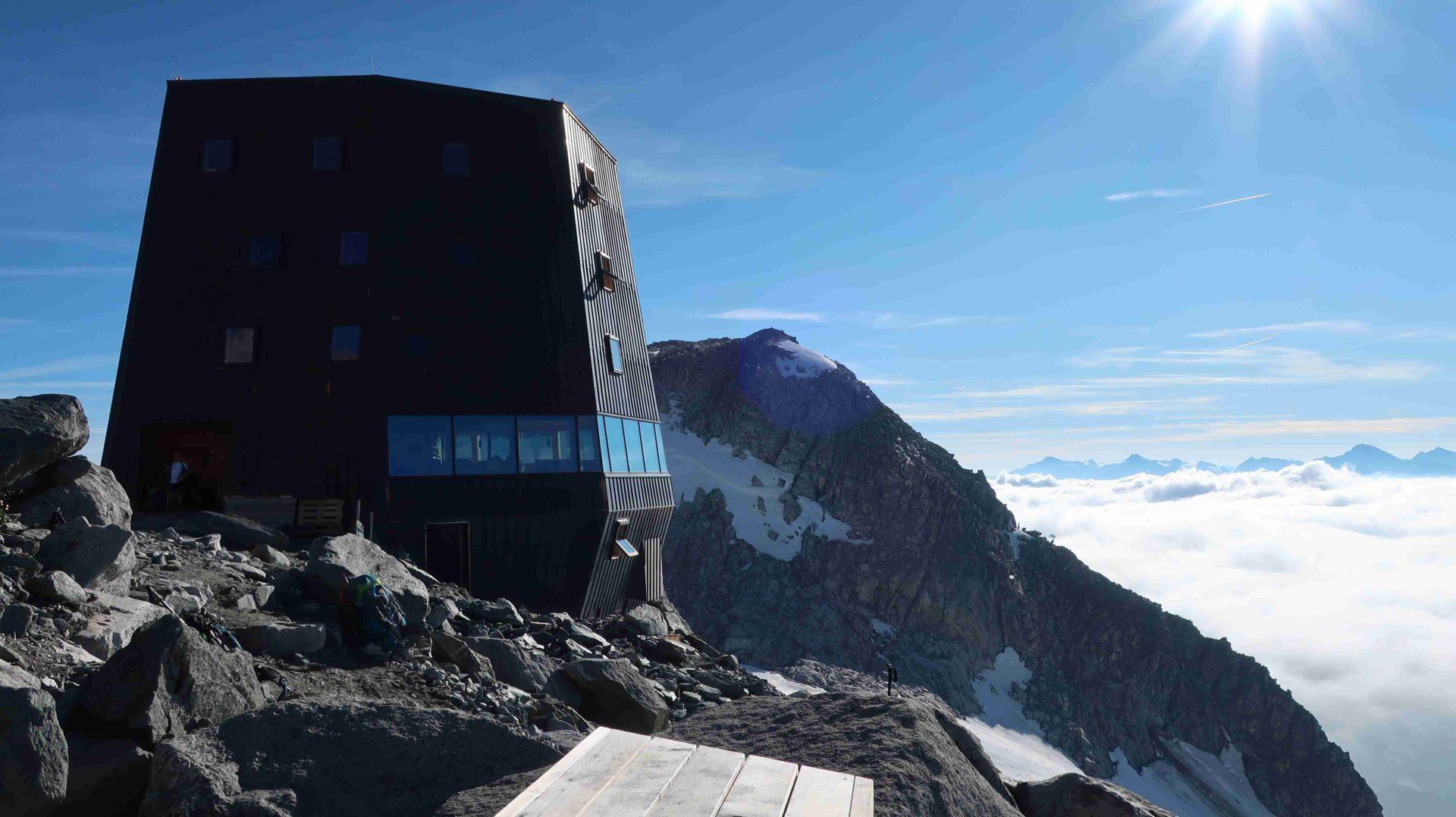 Aussicht Schwarzensteinhütte