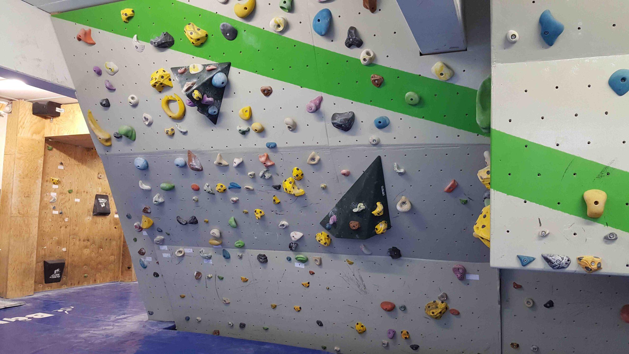 Boulderraum neu gestaltet in der Corona-Pause
