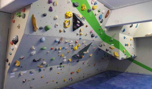 Artikelbild zu Artikel Umfangreiche Arbeiten im Boulderraum in der Corona-Pause